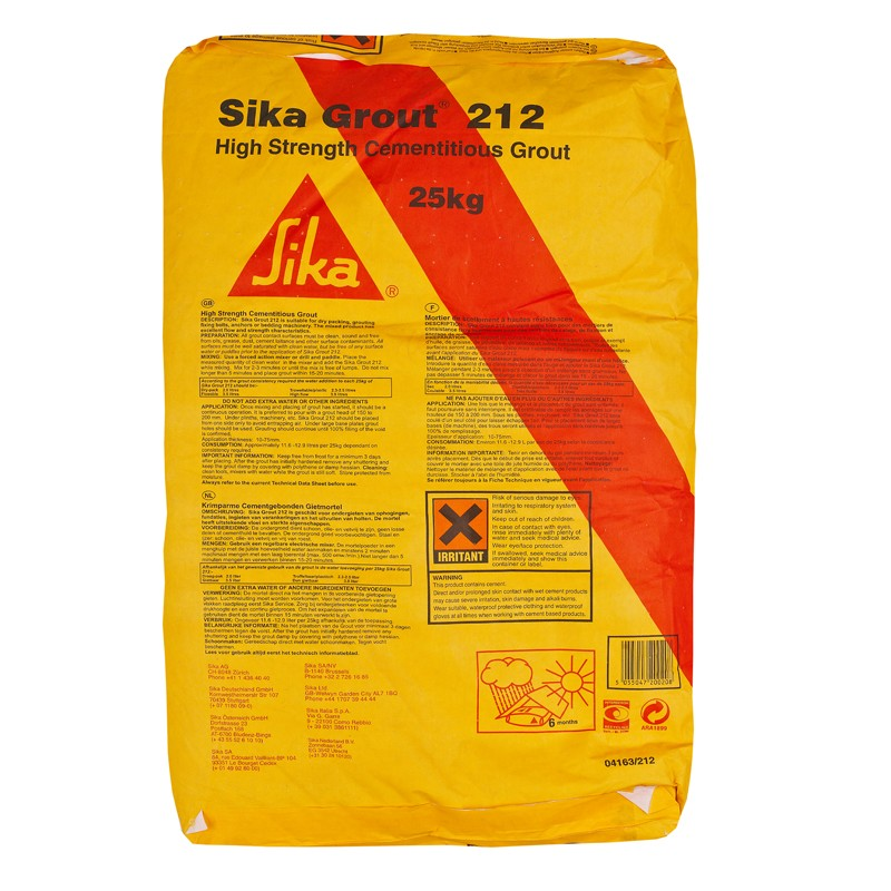 Sikagrout 212 Suppliers Sikagrout 212 Buy Sika Grout