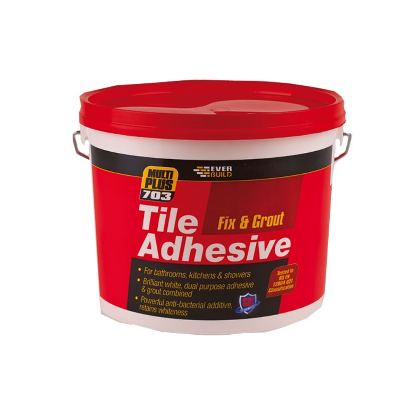 Everbuild 703 Fix and Grout Tile Adhesive