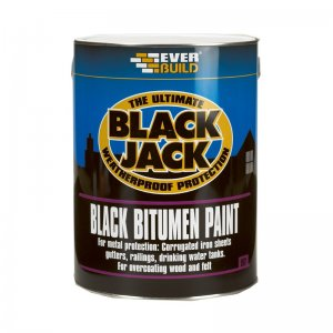 Everbuild 901 Black Bitumen Paint