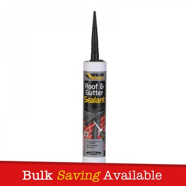 Everbuild Roof and Gutter Sealant Butyl Rubber Based Sealant