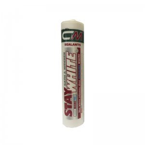 CM Sealants Stay White