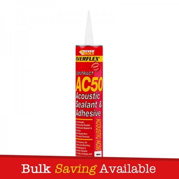 Everbuild AC50 Acoustic Sealant And Adhesive