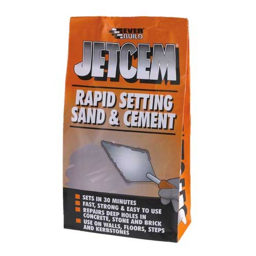 Everbuild Jetcem Premix Sand and Cement