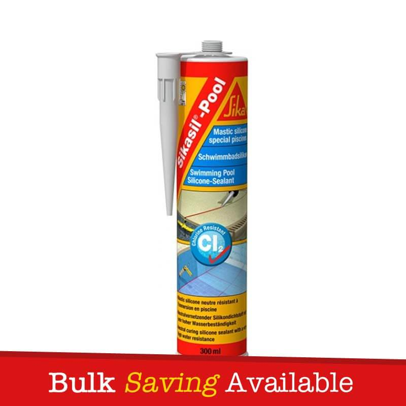 Swimming Pool Caulking Products : Sikasil pool sealant for swimming and wet areas