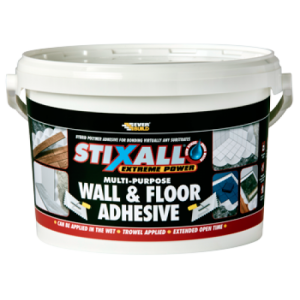 Everbuild Stixall Wall and Floor Adhesive