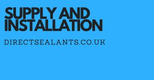 supply and installation of sealants