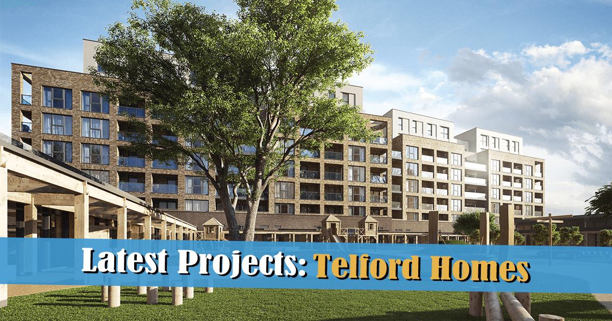 Latest Projects: Telford Homes